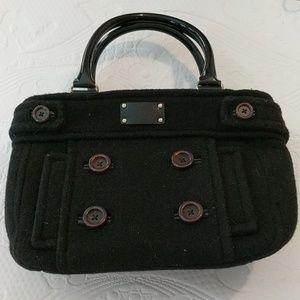 Kate Spade black button hand bag.